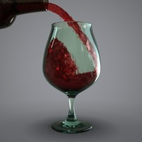 Glass of Wine Animation
