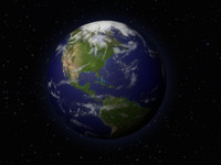 earth cloud 3d model