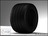 tire 38 3d model