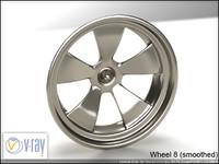 wheel 8 3d model