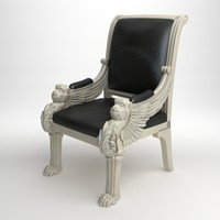 Royal leather armchair