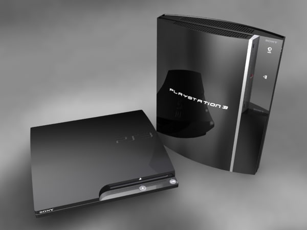 3 playstation 3d model - PlayStation 3 Console Pack... by MotionTech