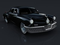 car tucker 1946 3d model