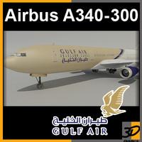 Airbus A340-300 Gulf Air
