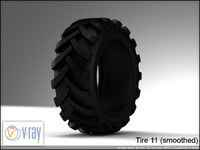 tire wheels 11 3d model