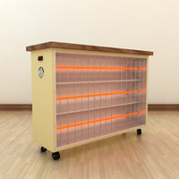 infrared quartz heater