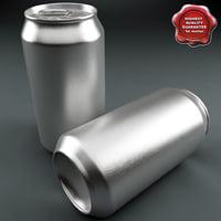 aluminium 0 33l 3d model