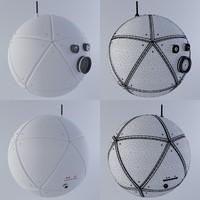 nasa camera bot 3d model