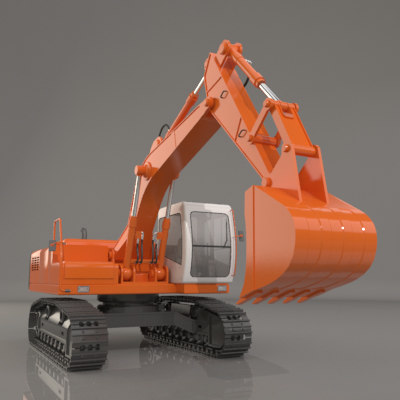 Crawler Excavator heavy machine 001.jpg