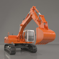 Crawler Excavator heavy machine