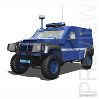 - armoured pvp 3d model
