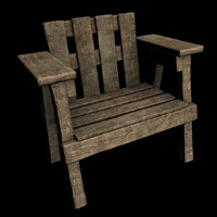 Wooden chair - Exterior
