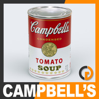Campbells Tomato Soup Can