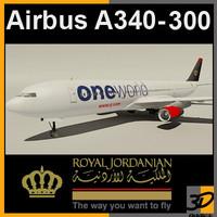 Airbus A340-300 Royal Jordanian