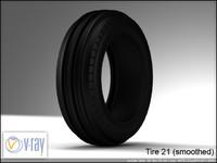 tire wheels 21 3d model