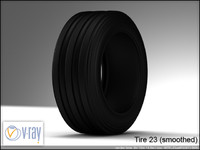 tire wheels 23 3 3d model