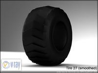 tire 27 3d model