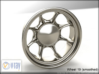 wheel 19 3d model