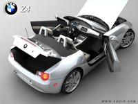 bmw z4 2002 3d model