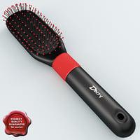 hairbrush v3 3d model
