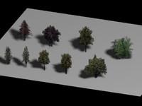 tree polys - 3d model