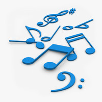 Music Notes 3D