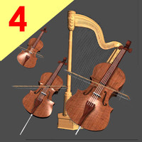 Strings Viola Violin Violocello Arp