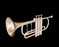 classic trumpet 3d model