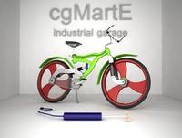 bisiklet 3d model