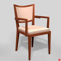 chair interior 3d model