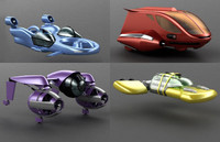 Flying Cars Collection
