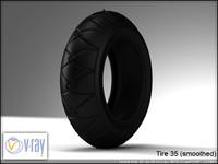tire 35 3d model
