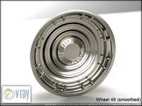 wheel 49 3d model