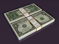 dollar 3d model