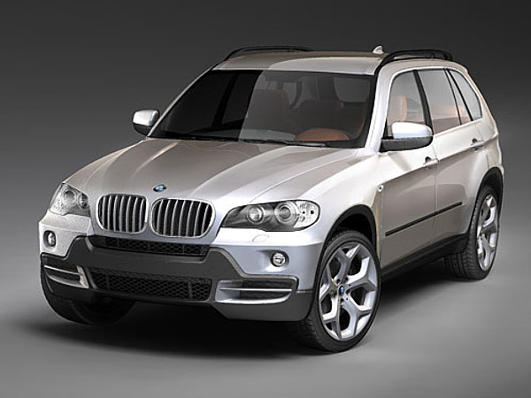 bmw x5 2008 3d model. Black Bedroom Furniture Sets. Home Design Ideas