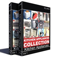 Kitchen Appliances Collection V3