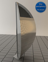 modern wastebasket 3d model