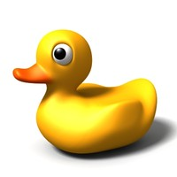 rubber duckie 3d model