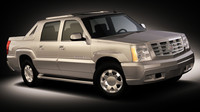 cadillac escalade ext 3d model