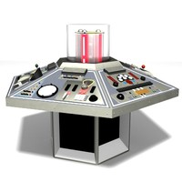 Doctor Who TARDIS Console 1982