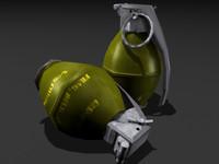 Frag Grenade - Complete -