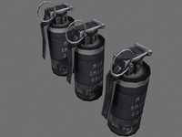 Smoke Grenade (GRAY) - Complete