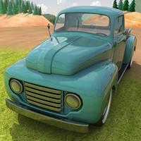 1950 pickup truck 3d model