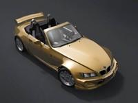 bmw z3 sport tuning 3d model
