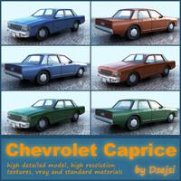 car chevrolet caprice 3d model
