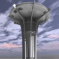 max futuristic skyscraper