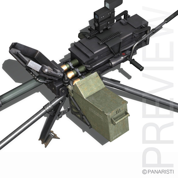 - gmg 40mm grenades 3d model - 40mm - GMG - Grenade Machine Gun... by Panaristi
