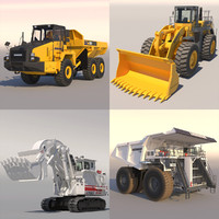 3ds max mining machines