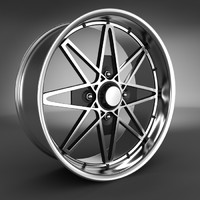 3d alloy wheel