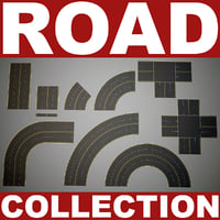 road v2 3d model